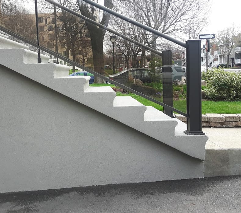revêtement escalier acrylique